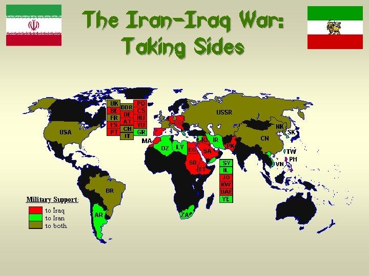 The Iran-Iraq War: Taking Sides