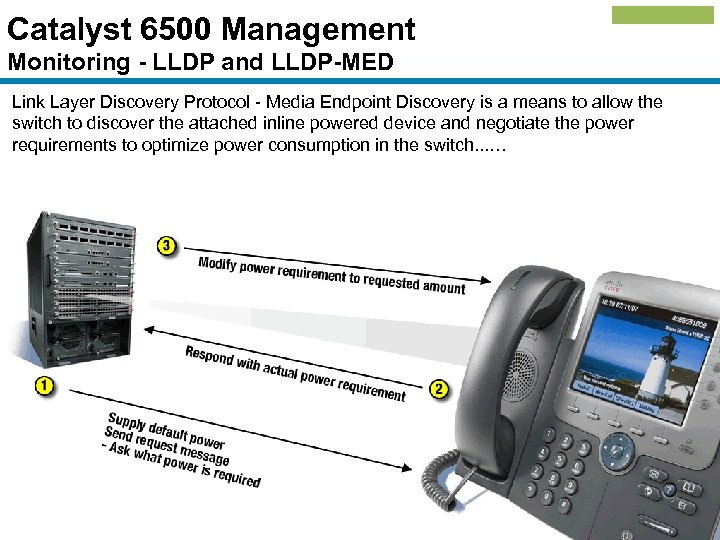 Catalyst 6500 Management Monitoring - LLDP and LLDP-MED Link Layer Discovery Protocol - Media