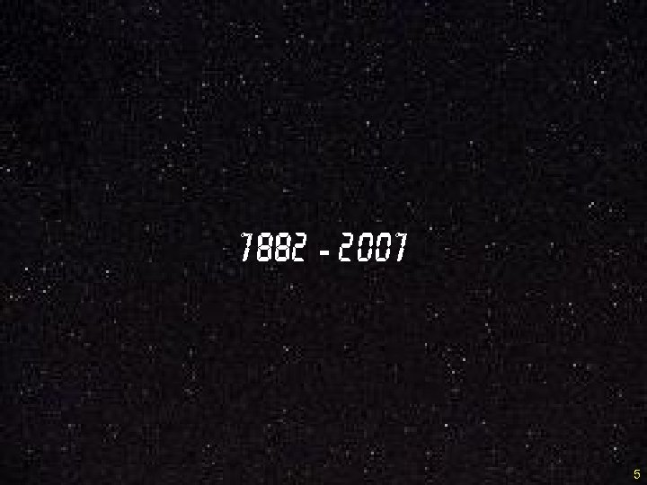 1882 - 2001 5