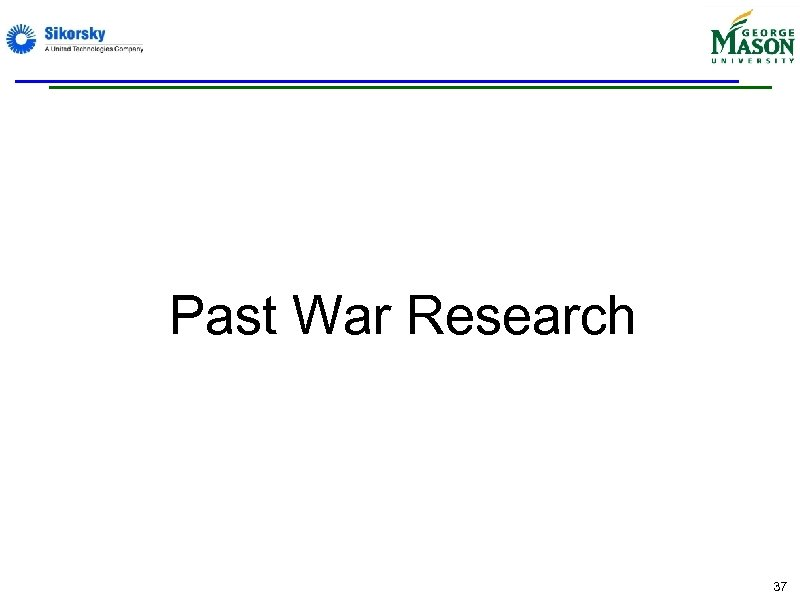 Past War Research 37