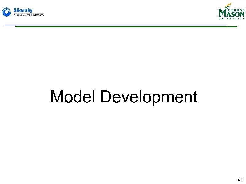 Model Development 41