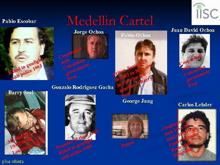 Pablo Escobar Medellin Cartel Jorge Ochoa t figh un in g 1993 e led