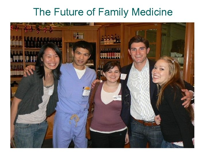 The Future of Family Medicine ¡ Insert a photo here to break