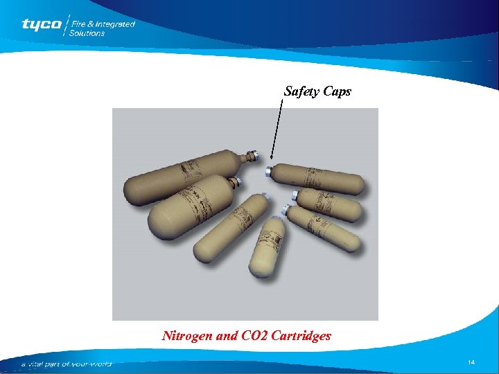 Safety Caps Nitrogen and CO 2 Cartridges 14