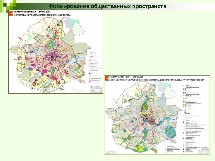 Формирование общественных пространств