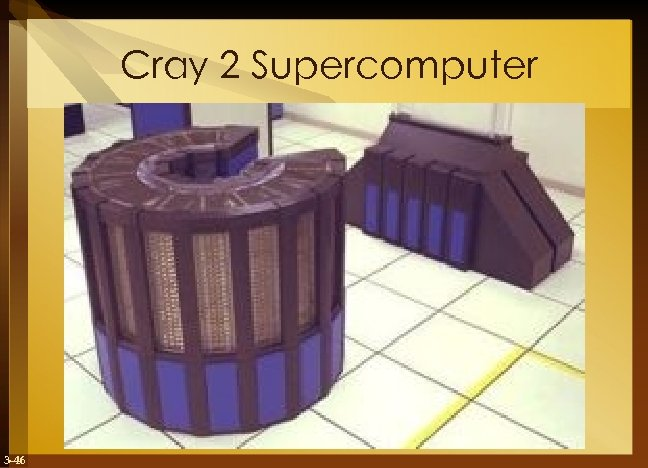 Cray 2 Supercomputer 3 -46
