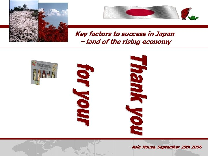Key factors to success in Japan – land of the rising economy Dette Er