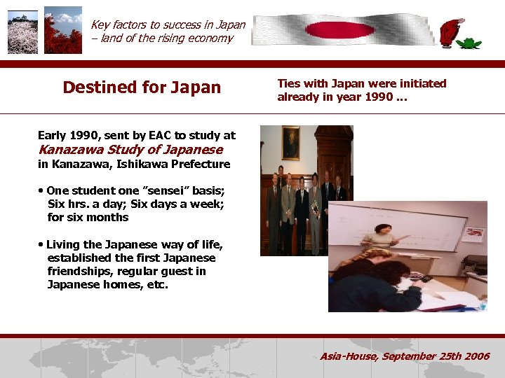 Key factors to success in Japan – land of the rising economy Destined for