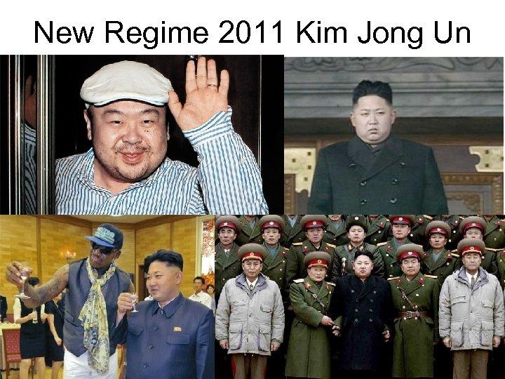 New Regime 2011 Kim Jong Un