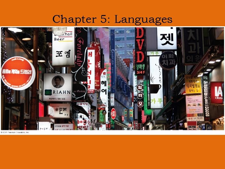 Chapter 5: Languages