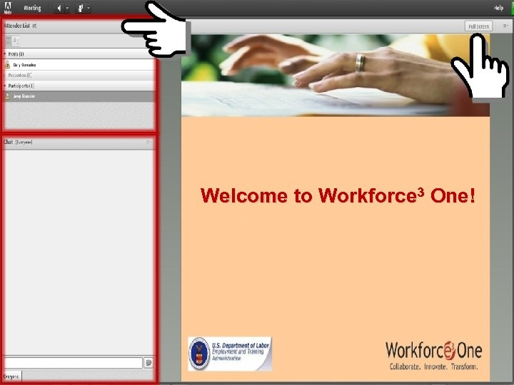 Welcome to Workforce 3 One! Serving Jobseekers with Disabilities in the One-Stop Career Centers
