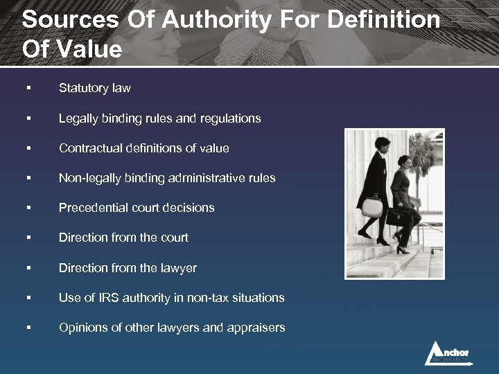 Sources Of Authority For Definition Of Value § Statutory law § Legally binding rules