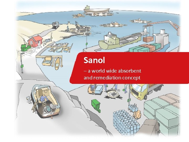 Sanol – a world wide absorbent and remediation concept