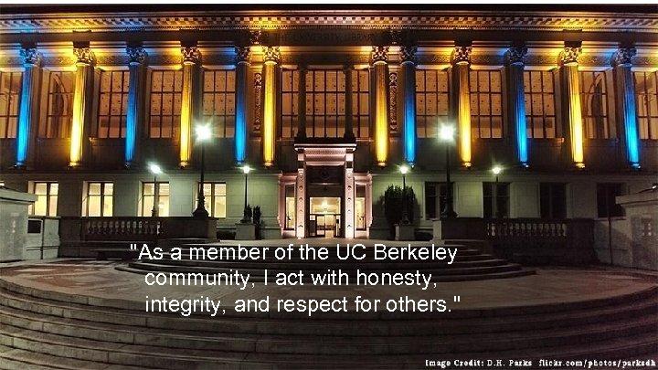 The Honor Code at UC Berkeley