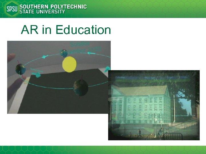 AR in Education