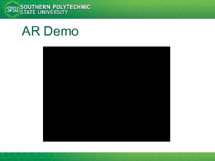 AR Demo