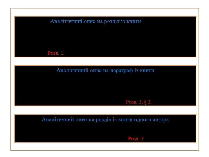 Аналітичний опис на розділ із книги Титаренко В. В. Нові релігійні утворення як