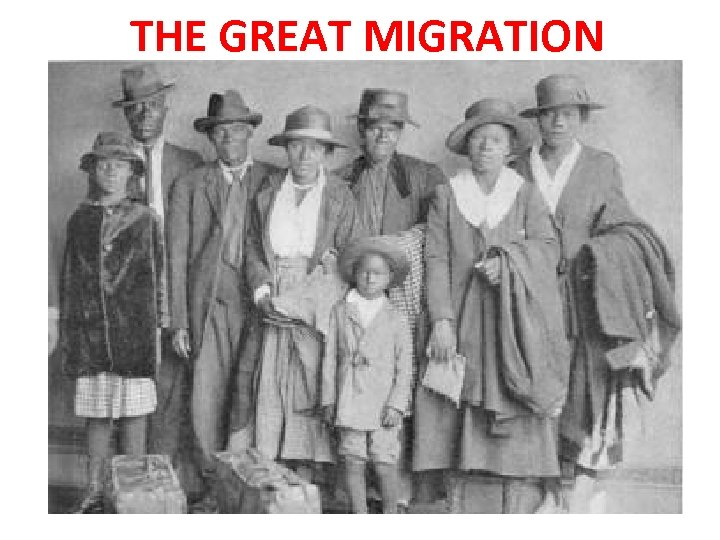 the great migration and its modern parallels essay Between 1915 and 1970, six million african americans left their homes in the south and moved to states in the north and west this massive movement of black citizens from one part of the united states to another is known as the great migration.