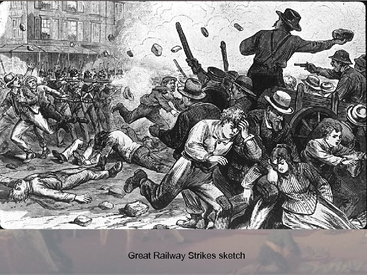 Great Railway Strikes sketch
