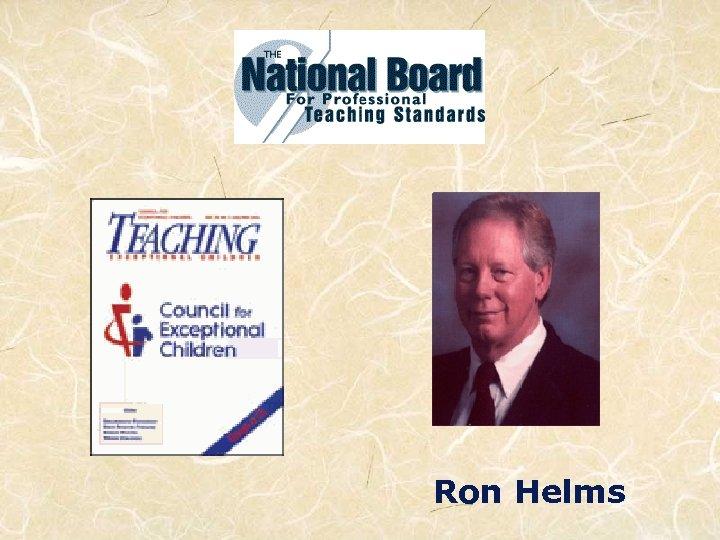 Ron Helms