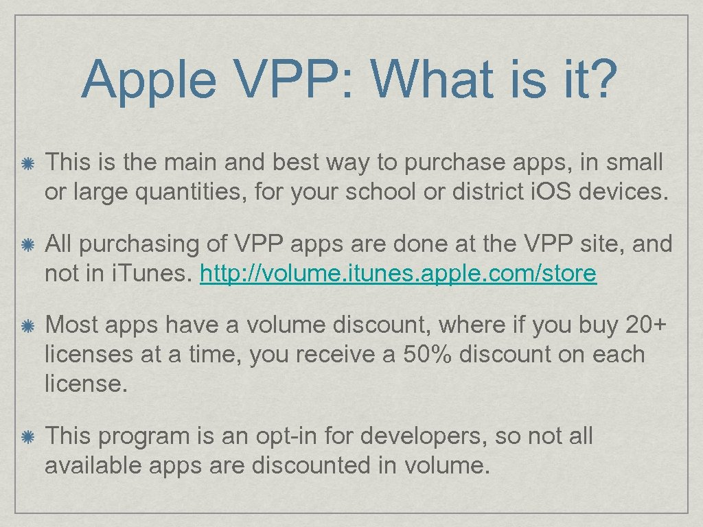 Apple VPP: What is it? This is the main and best way to purchase
