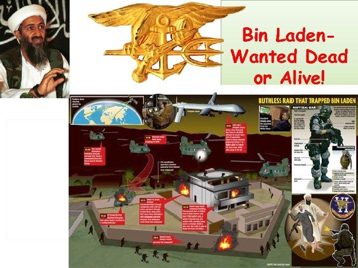 Bin Laden. Wanted Dead or Alive!