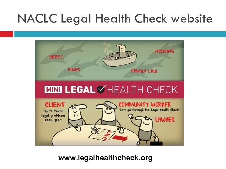 NACLC Legal Health Check website www. legalhealthcheck. org