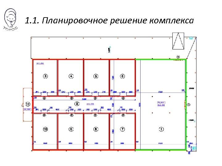 1. 1. Планировочное решение комплекса