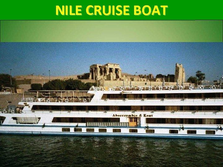 NILE CRUISE BOAT 54