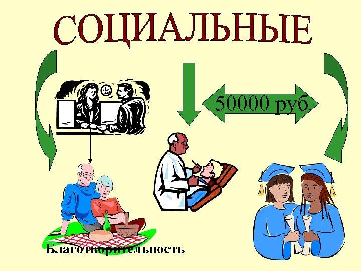 50000 руб. Благотворительность