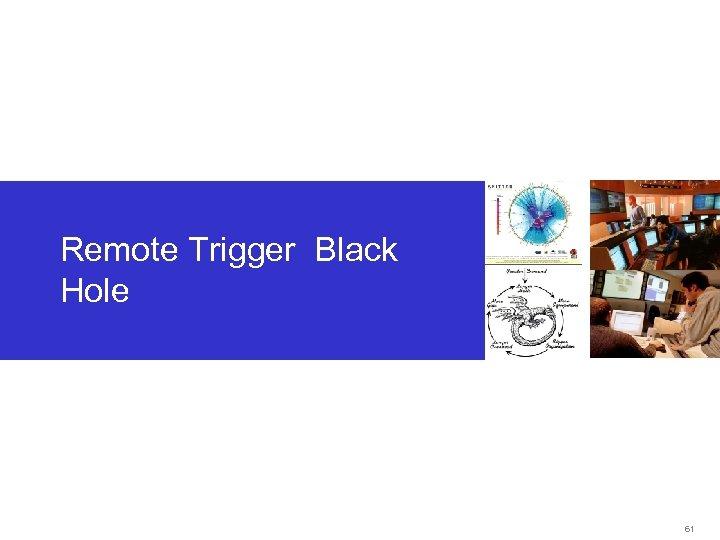 Remote Trigger Black Hole 61