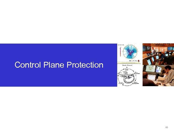 Control Plane Protection 83