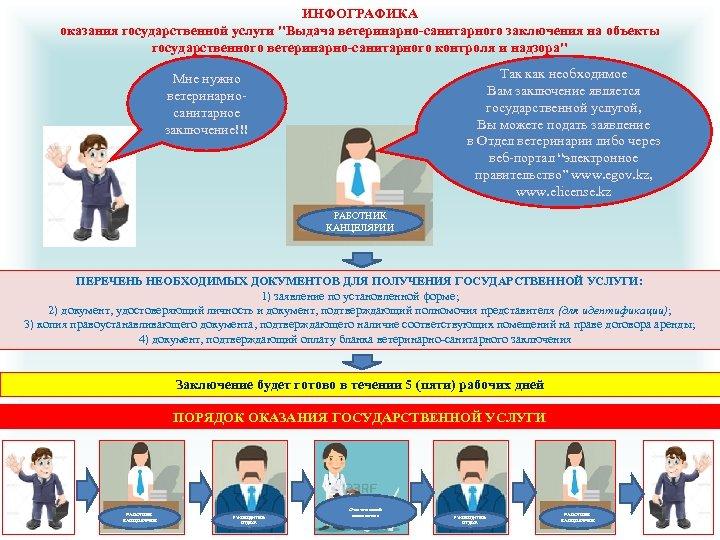 ИНФОГРАФИКА оказания государственной услуги
