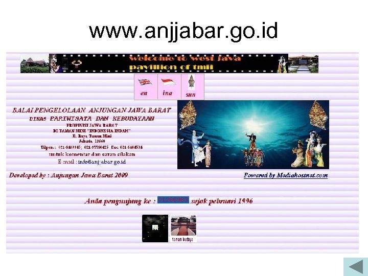 www. anjjabar. go. id