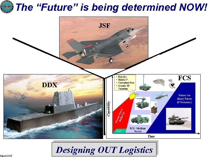 """The """"Future"""" is being determined NOW! JSF DDX 04 pm 12 -25 Designing OUT"""
