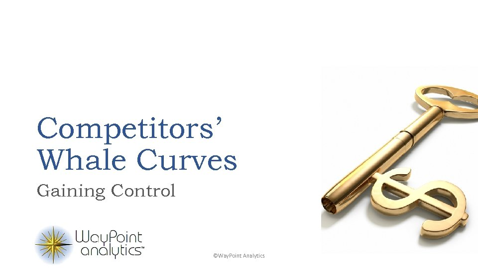 Competitors' Whale Curves Gaining Control ©Way. Point Analytics