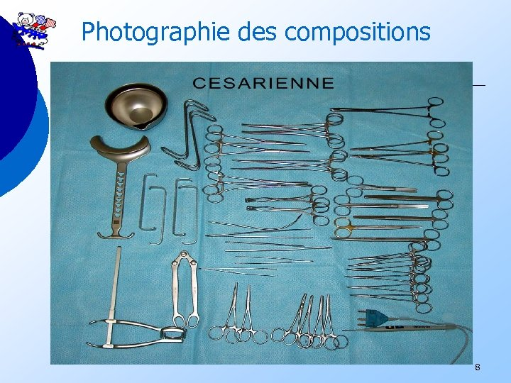 Photographie des compositions 8