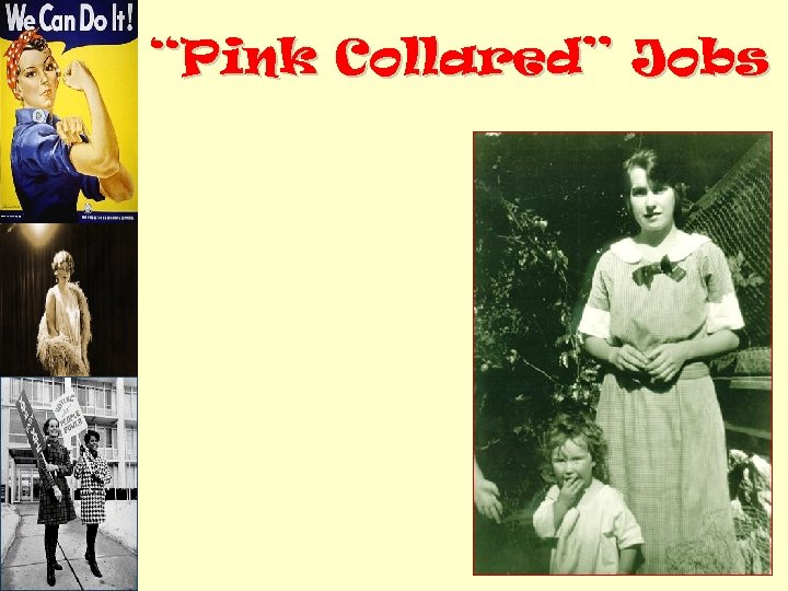 """""""Pink Collared"""" Jobs"""