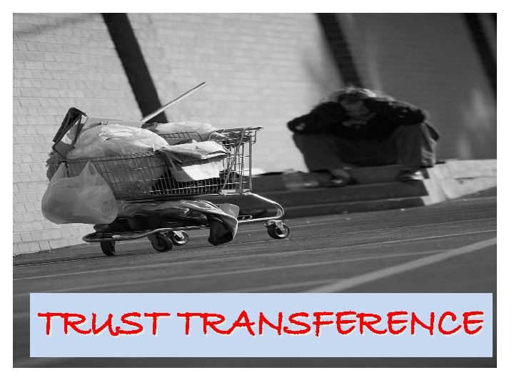 TRUST TRANSFERENCE