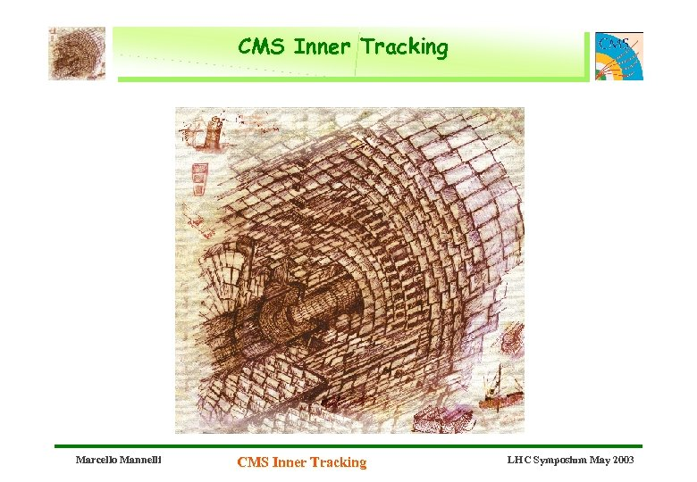 CMS Inner Tracking Marcello Mannelli CMS Inner Tracking LHC Symposium May 2003