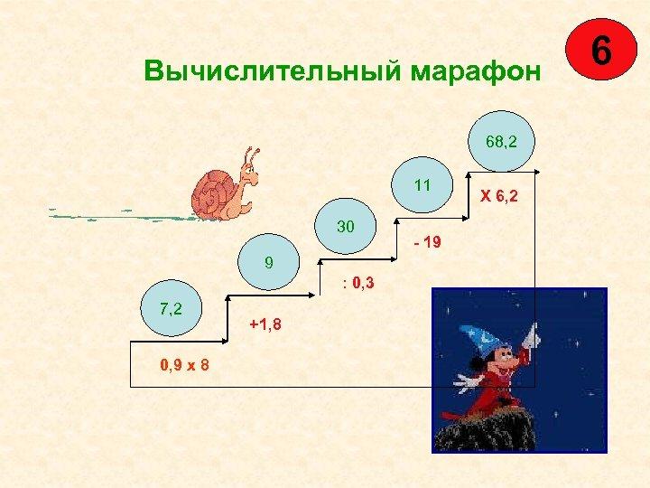Вычислительный марафон 68, 2 11 30 9 : 0, 3 7, 2 0, 9