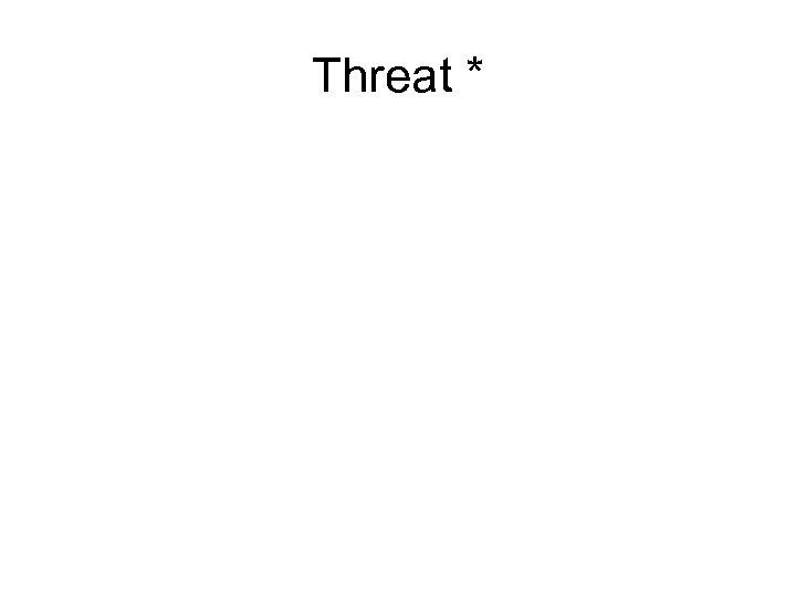 Threat *