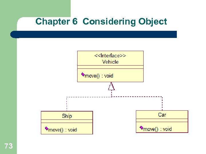 Chapter 6 Considering Object 73