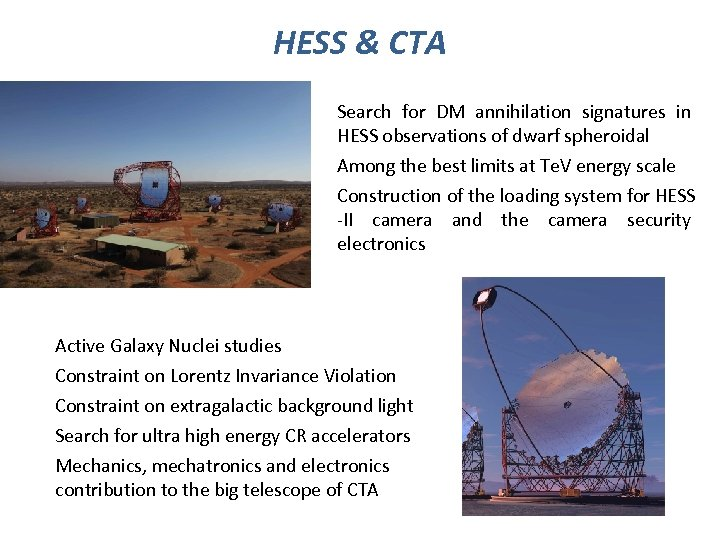 HESS & CTA Search for DM annihilation signatures in HESS observations of dwarf spheroidal