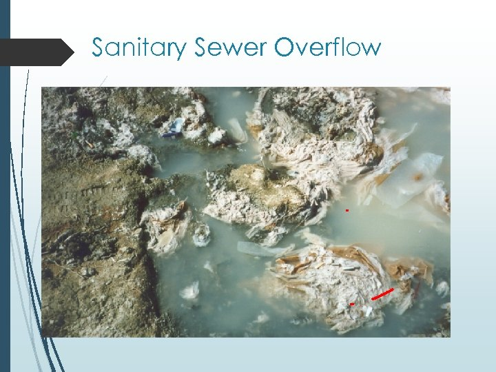 Sanitary Sewer Overflow