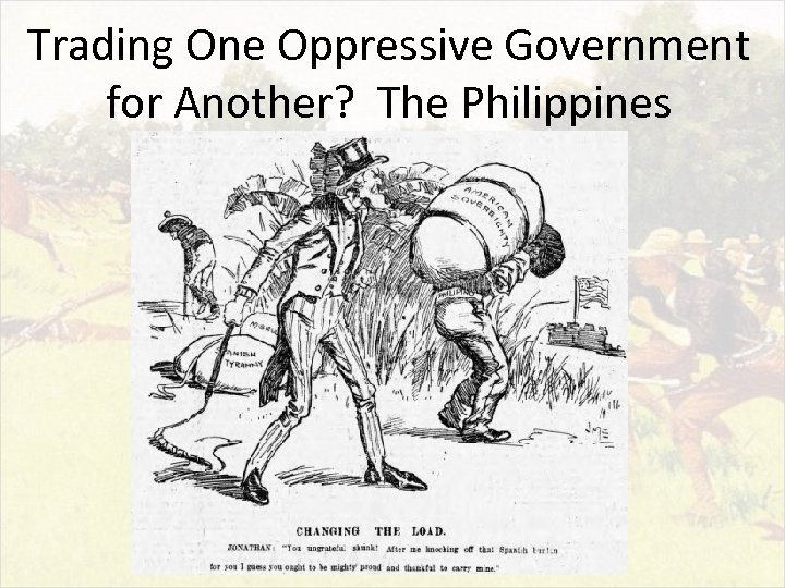 Trading One Oppressive Government for Another? The Philippines
