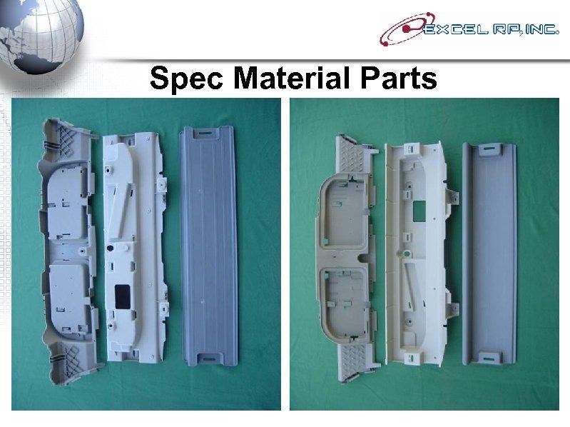Spec Material Parts