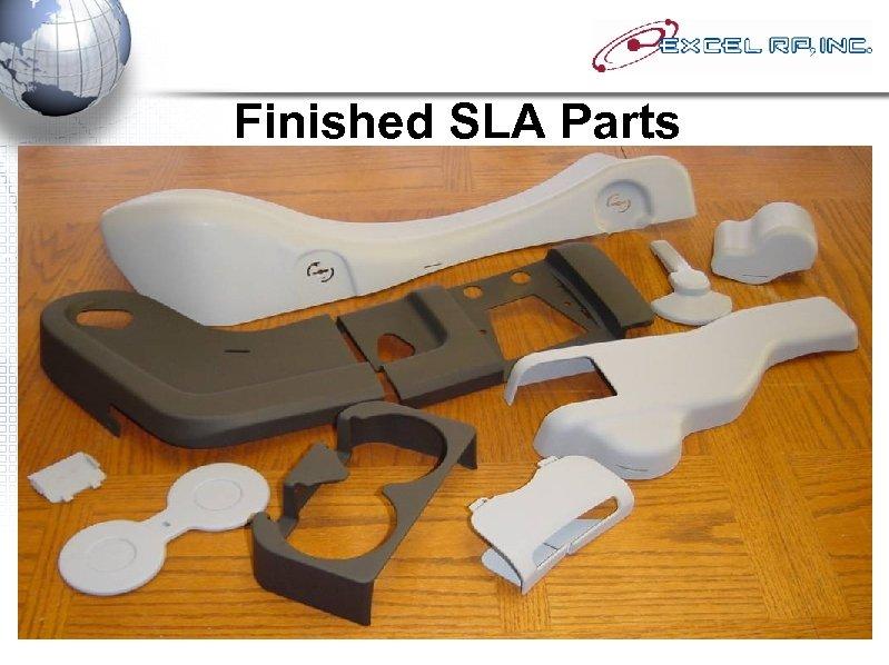 Finished SLA Parts