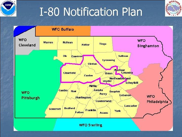 I-80 Notification Plan