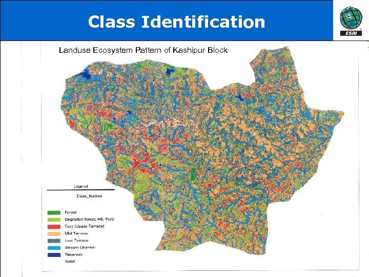 Class Identification Landuse Ecosystem Pattern of Kashipur Block